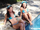 Pool Party Blowjob Teen Girls