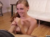Super Cute Teen Babe Handjob