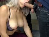Teen Sucking Big Cock And Fast Handjob