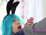 Bunny Bulma Easter Special – Cum Swallowing