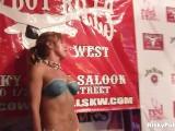 Sexy Busty Girls Posing In Public