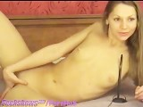 Cute Teen Girl Dildos On Webcam