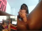 Latina Teen Squirt At Work
