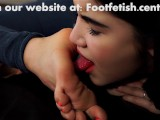 Young Asian Foot Domination
