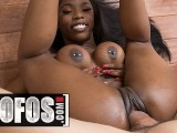 MOFOS – Hot Ebony Teen Sarah Banks Does Anal For The First Time