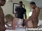 3 Young BBC Creampie MILF