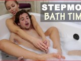 BANGBROS – MILF Nicole Aniston Gives Young Guy A Bath And Rocks His World