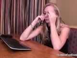Boss Humiliates Her Secretary And Boyfriend