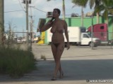 Hairy Girl Walk Naked In Public