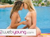 WebYoung Lesbian Teens Trib Shaved Pussies Outside