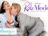 GIRLSWAY Mature Lesbian Gifts Aidra Fox A Power Suit & Feels Her Up
