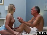 Blonde Teen Fucked By Hairy Old Man She Loves Getting Sex Blowjobs And Cum