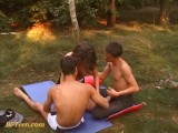 Outdoor Public Bisex Teens