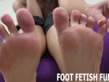 Femdom Foot Fetish And Toe Sucking Porn