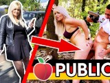 PUBLIC PARK-FUCK Tatjana Young Banged By Stranger In The Woods Dates66.com