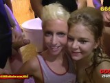 Piss And Cum For German Blonde Teen Sluts – 666Bukkake