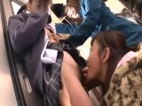 Japanese Young Cute Girls Are Molested By 2 Lusting Milfs 4