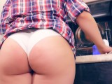 Young Milf In The Kitchen Can Not Only Cook)