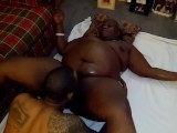 Black Granny An Young Bull