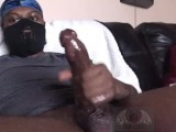 Young Big Black Dick Stroking Til Fat Cumshot