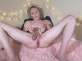 Trans Girl Uses Her Own Dick To Fuck Her Ass