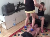 Trampling Girls In Action