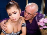 GrandpasFuckTeens Young Sad Lady Gets Cheered Up By Her Sugar Daddy