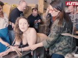 LETSDOEIT – Big Boobs Girl Bound Hard And Given Multi Orgasms