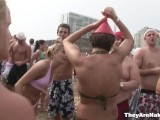Attracive Girls Posing On The Beach